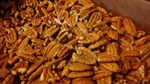 Certified Organic Fresh Shelled Texas Papershell Pecan Halves, 10 Lb. Family Orchard grown by PecanShop.com