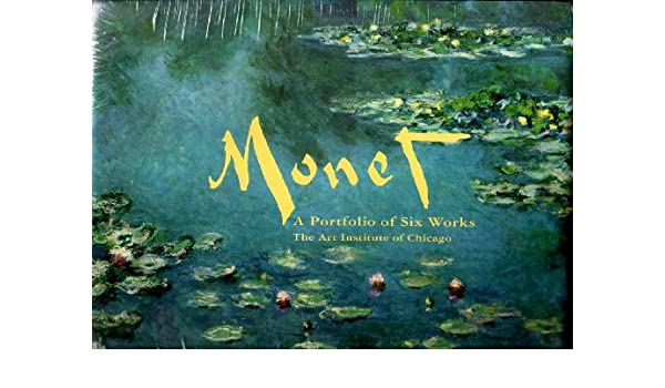 claude monet a portfolio of six works from the art institute of chicago
