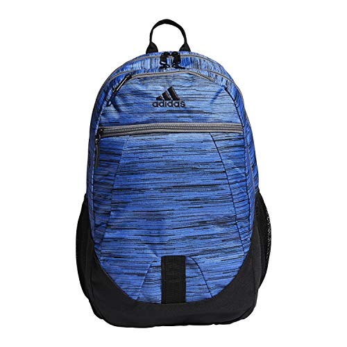 adidas Foundation Backpack, Real Blue Looper/Grey, One Size
