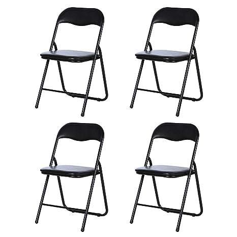 DALL Chairs Stools Silla Plegable con Estructura de Hierro ...