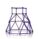 Toys : Jungle Gym Playset Climbing Stand Holder Stent,Gbell Interactive Baby Monkey (Blue)