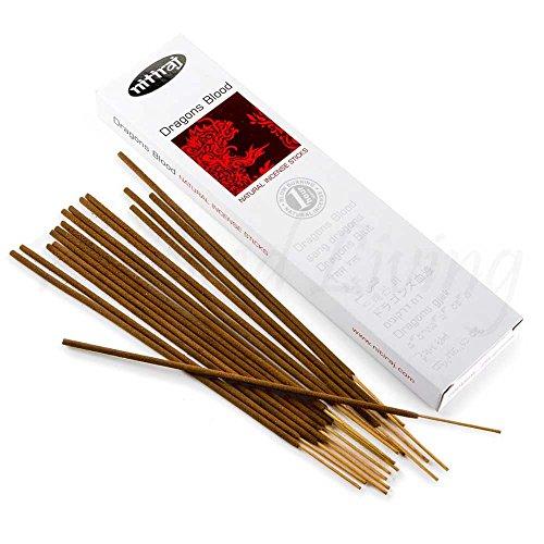 Nitiraj Platinum Natural Incense Sticks Slow Burning 1hr. 2Pack Dragons Blood