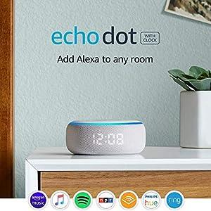 Best Epic Trends 51UpQiqck8L._SS300_ Certified Refurbished Echo Dot (3rd Gen) - Smart speaker with clock and Alexa - Sandstone