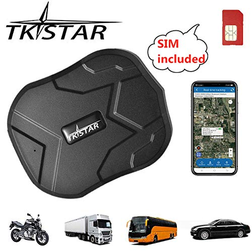 GPS Tracker Waterproof Real Time Vehicle GPS Locator Hidden Anti Theft Alarm...
