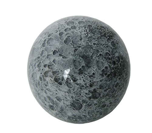 Dynasty Gallery, Glass Planet Paperweight Moon Glow in Dark
