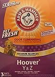 Arm & Hammer Pet Fresh Vacuum Bags Hoover Y & Z