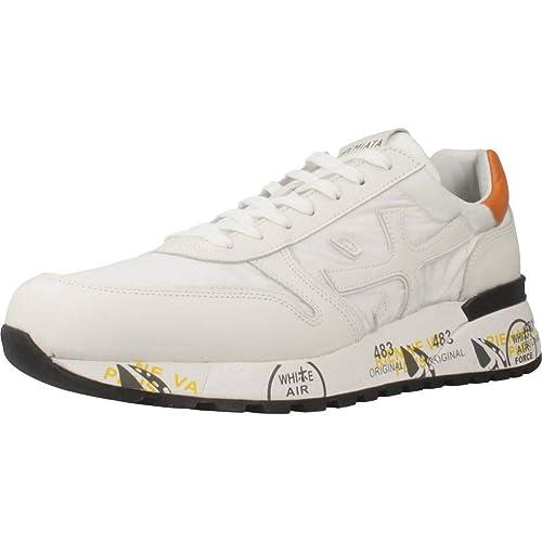 733a0b10676 PREMIATA Mick V-2828, Zapatillas Deportivas Para Hombre, Blanco: Amazon.es:  Zapatos y complementos