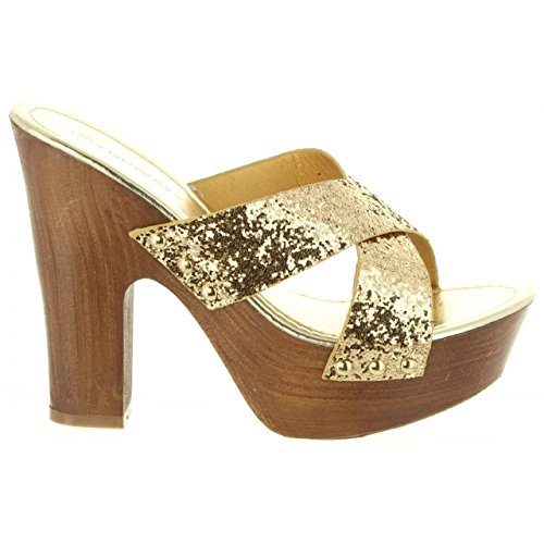 Gold Urban Pour Femme Sandales B736910 b7200 q6ApTZ