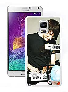 New Unique DIY Antiskid Skin Case For Samsung Note 4 Owl City Samsung Galaxy Note 4 White Phone Case 345