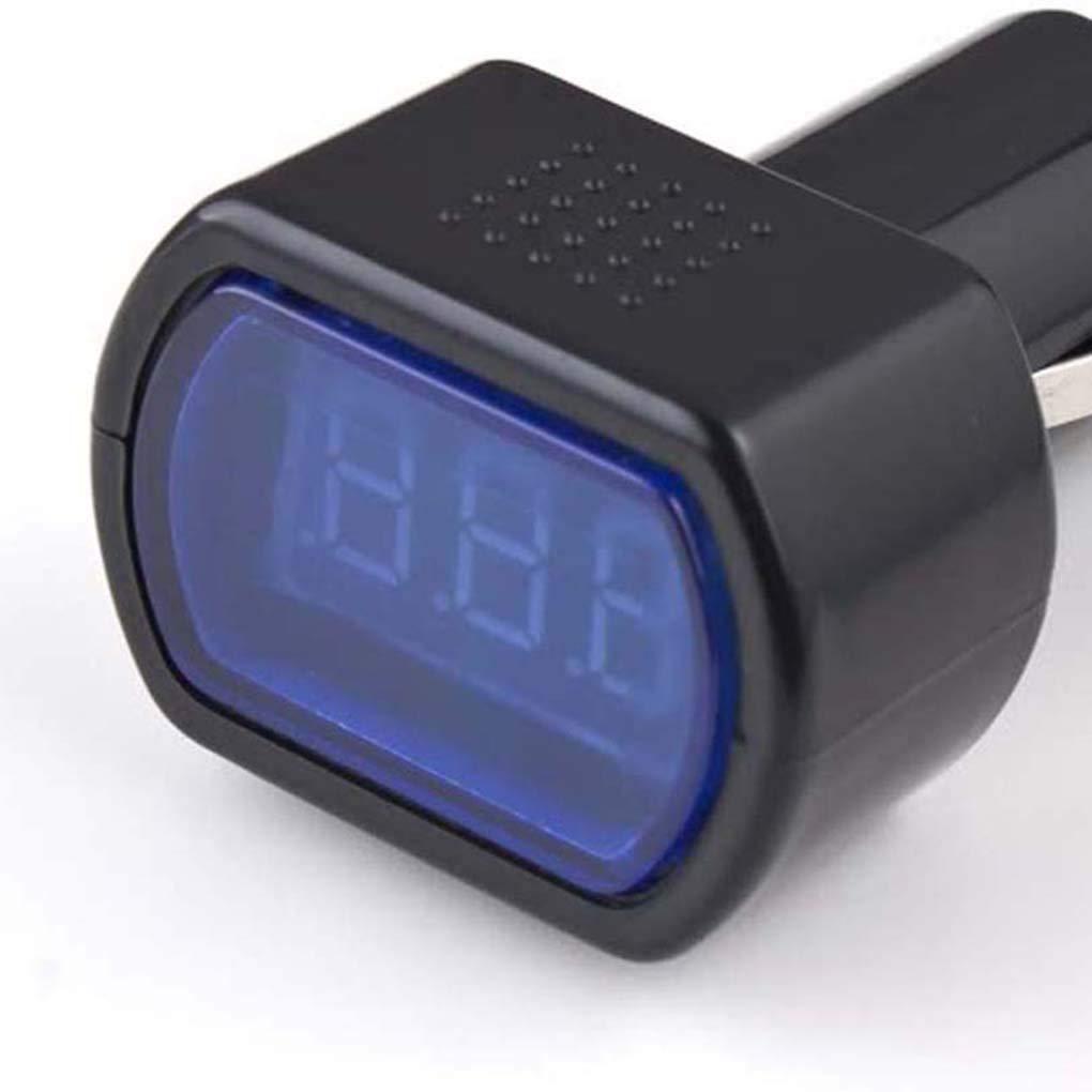 Mini digitale batteria auto voltmetro 9-31V in auto per volt della batteria tester del calibro Detector