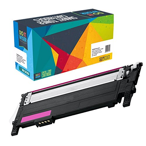 Do It Wiser Remanufactured Magenta Toner Cartridge For Samsung CLP-360 CLP-365 CLP-365W CLX-3305 CLX-3305FN CLX-3305FW CLX-3305W - CLT-M406S - Yield 1,000 (Red Samsung Toner)