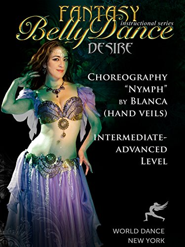 Costume Breakdown Programs (Nymph - Belly Dance Hand Veils Choreography by Blanca)