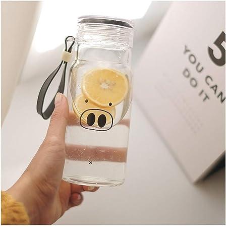 Afectará 320ml taza de cristal vidrios de consumición taza de té de la botella de agua
