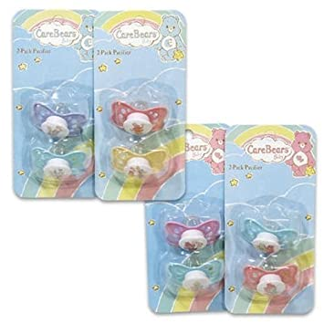 Amazon.com: 2 Care Bears – Chupete – colores Vary: Baby
