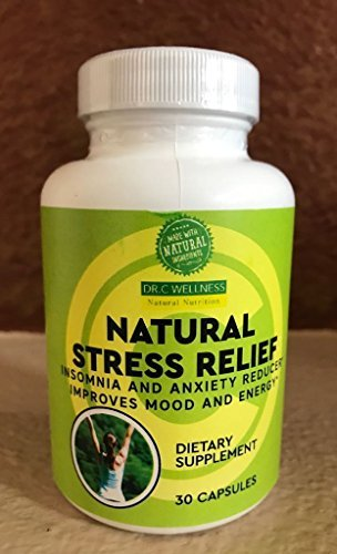Natural Sleep Aid, Anxiety Relief Natural Formulation with L-Theanine, St.John's Wart, Rhodiola Extract, Ashwagandha, Chamomile, Passion Flower