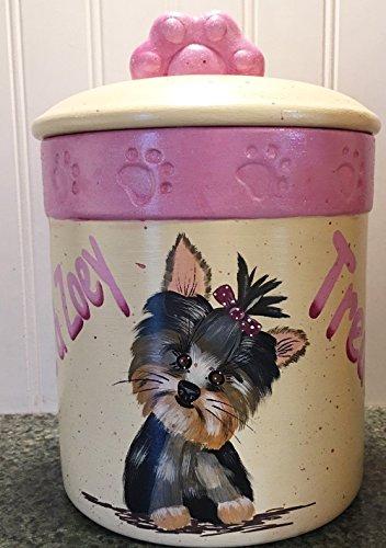Personalized Dog Treat Jar - 6