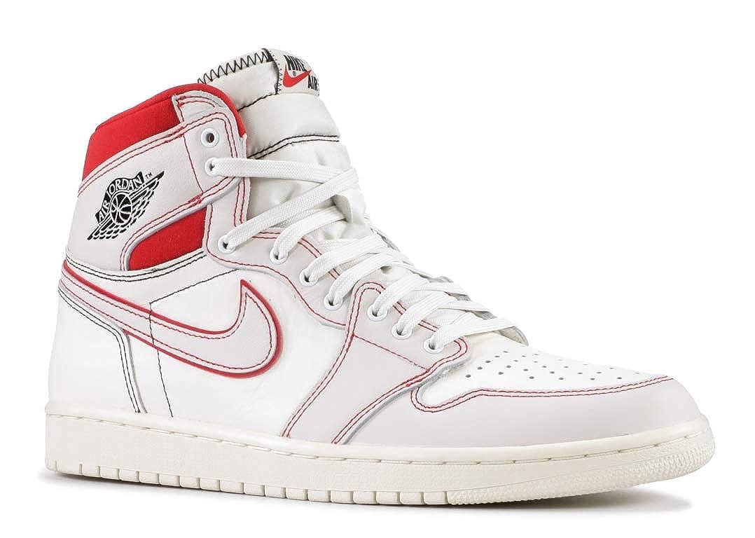 [ナイキ] Nike - Air Jordan 1 Retro High OG [並行輸入品] - 555088160 - Color: 白 - Size: 30.5 B07PJKNWTK