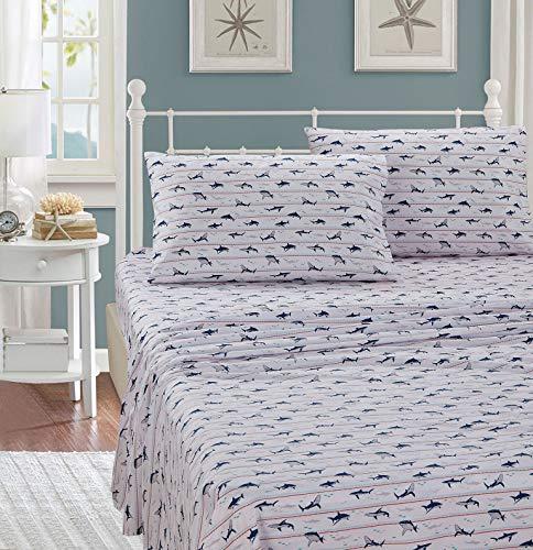 shark bed sheets full - 2