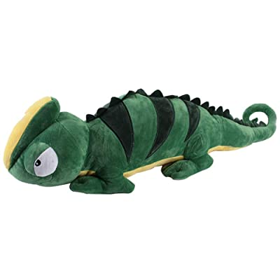 Toy Pillow Simulation Lizard Plush Pillow Suitable for Birthday Gifts Bedroom Office Decoration Filled Toy,150cm: Home & Kitchen