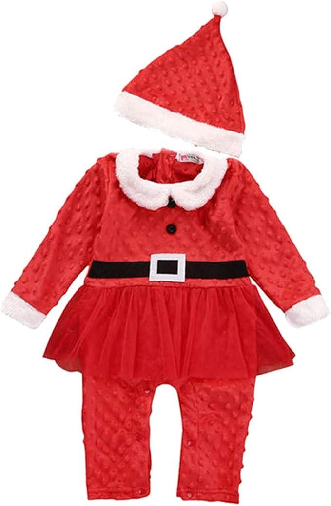 Smoon Baby Disfraz Navidad Bebe, Traje Conjunto de Disfraces ...