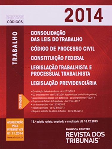 Mini Consolidação Das Leis Do Trabalho, Código De Processo Civil, Constituição Federal