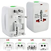 Sky Tech® All in One Universal Power Adapter Worldwide Travel Adapter