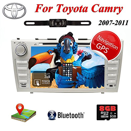 2007-2011 FOR TOYOTA CAMRY Car DVD Player 2 DIN GPS: Amazon.co.uk: Electronics