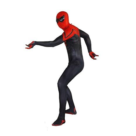 KYOKIM Traje Negro De Spiderman Cosplay De Halloween Traje ...