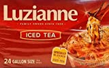 Luzianne Specially Blended For Iced Tea 24 Gallon Size Tea Bags, 24 Oz. (Pack of 12)