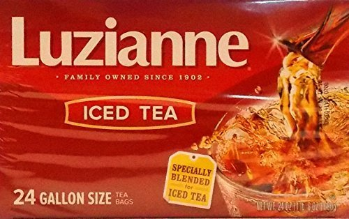 Luzianne Specially Blended For Iced Tea 24 Gallon Size Tea Bags, 24 Oz. (Pack of 12) by Reily Foods
