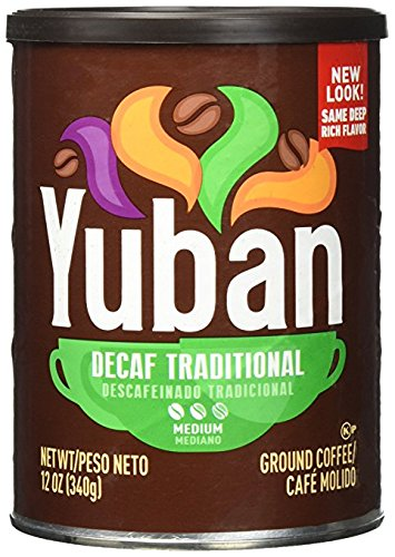 Traditional Ground - Yuban Traditional Decaf Ground Coffee, Medium Roast, 12 Ounce (pack of 2)