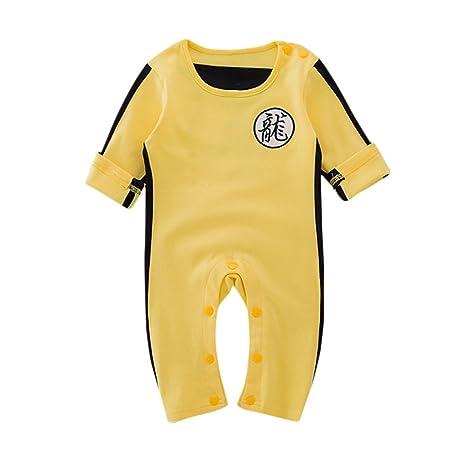 Recién Nacido Bebé Niños Mono de Ropa de Bruce Lee por MYQyiyi: Amazon.es: Ropa y accesorios