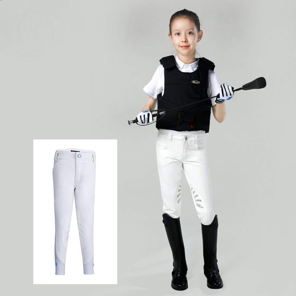 CLBING Equipamiento Ecuestre Pantalones De Equitaci/ón Calzones para Ni/ños,A-110