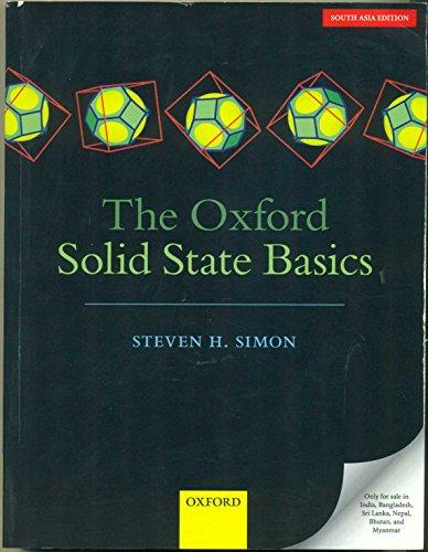 The Oxford Solid State Basics [Paperback] [Jan 01, 2017] por STEVEN H.SIMON