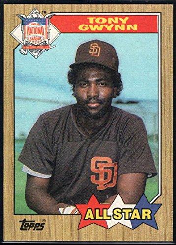 - Baseball MLB 1987 Topps #599 Tony Gwynn AS Padres