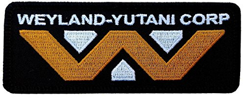 Alien Movie Weyland Yutani Corporation Logo Patch