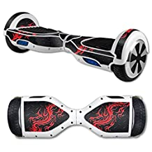 MightySkins Protective Vinyl Skin Decal for Hover Board Self Balancing Scooter mini 2 wheel x1 razor wrap cover sticker Red Dragon