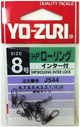 ヨーヅリ(YO-ZURI) 雑品・小物: [HP]ローリングインター付黒 8号