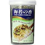 JFC - Nori Komi Furikake (Rice Seasoning) 1.7 Ounce Jar (Pack of 2)