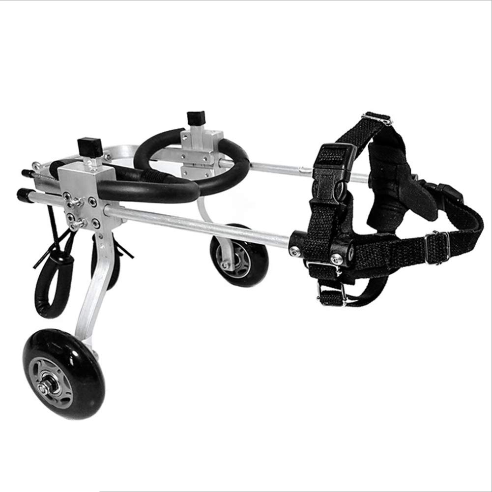 M-1 (27-32cm) Ryan Dog Wheelchair, Hind Leg Rehabilitation Disabled Pet Cat Scooter Vehicle Limb Assisted Training Adjustable Bracket Stroller (M) (Size   M-1 (27-32cm))