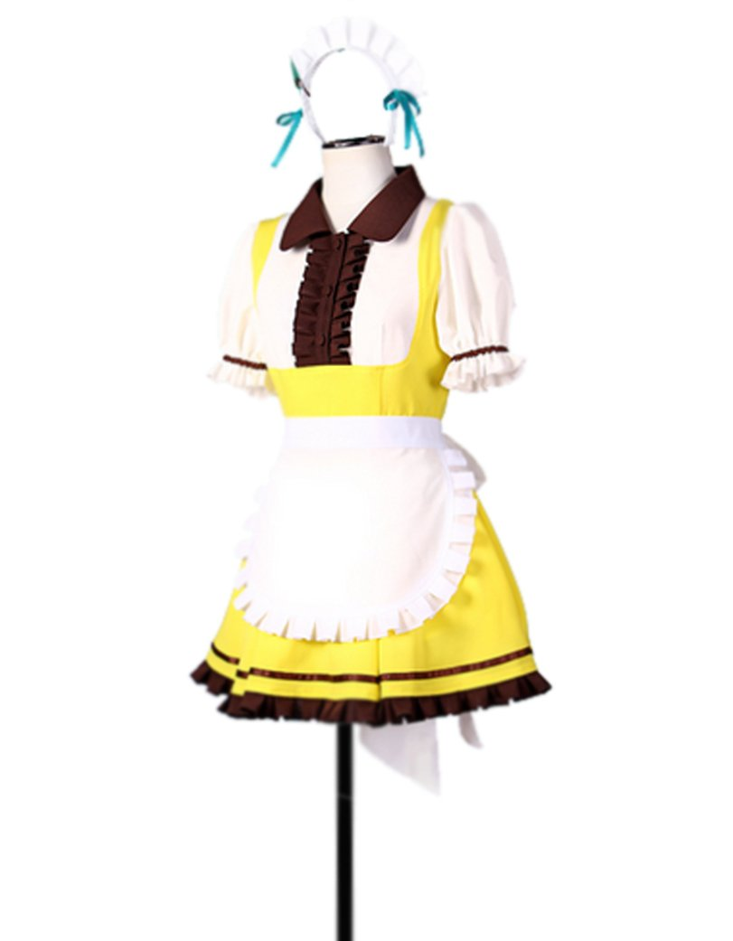 Dreamcosplay Animation Love live Minami Kotori Cake Maid Outfits Cosplay