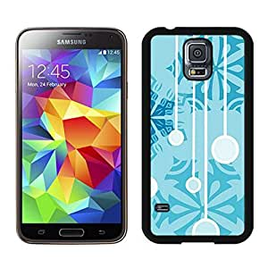 2014 New Style Christmas Snowflake Black Samsung Galaxy S5 Case 15