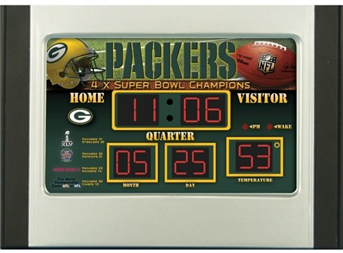 Green Bay Packers Alarm - 5