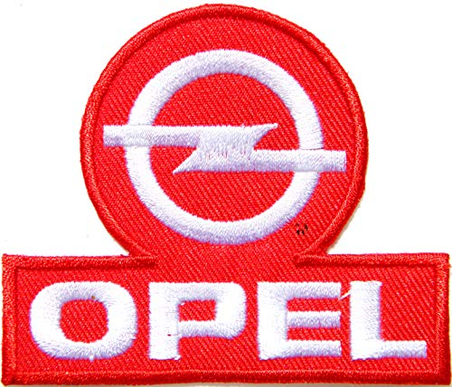 OPEL Motors Automotive Racing Logo Sign Car Patch Sew Iron on Applique Embroidered T Shirt Jacket Costume