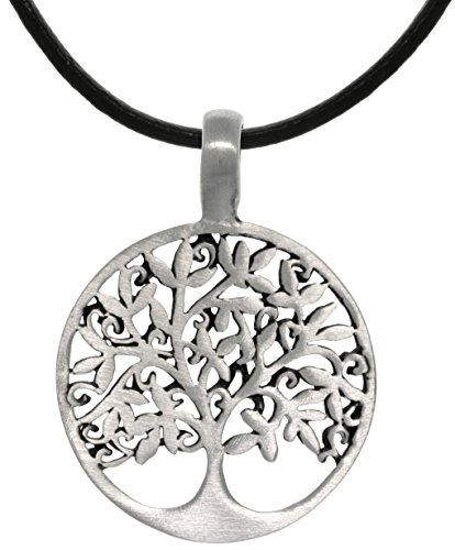 - Jewelry Trends Celtic Tree of Life Pewter Pendant Necklace 18