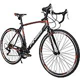 Merax Finiss Road Bike Aluminum 21 Speed 700C Racing Bicycle (Red &...
