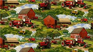 Case international harvester fleece fabric for International harvester room decor