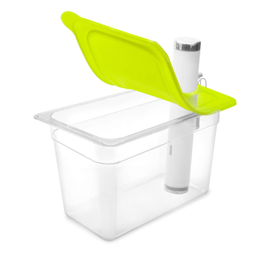 EVERIE Sous Vide Container 7 Quart with Silicone Lid for Chefsteps Joule