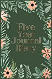 Five Year Diary Journal: 5 Years Of Memories, Blank Date No Month, 6 x 9, 365 Lined Pages