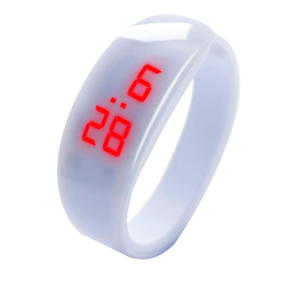 Amazon.com: LED Fitness Bracelet Watches for Women and Men, Iuhan Fashion LED Digital Display Bracelet Watch Dolphin Young Fashion Sports Bracelet (Orange): ...